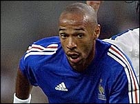 Thierry Henry and France were way too strong for Cyprus