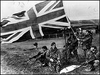 British Troops, Falkland Islands