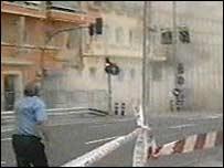 Alicante bomb scene