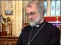 The Archbishop of Canterbury, Dr Rowan Williams
