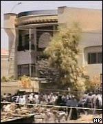 La casa de Mosul que fue atacada por soldados estadounidenses