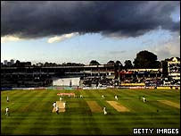 A general view of Edgbaston