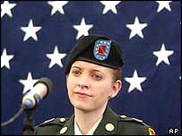 Private Jessica Lynch