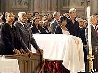 Funeral de Celia Cruz.