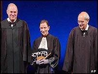 Anthony Kennedy, Ruth Bader Ginsburg and Stephen Breyer