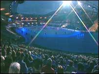 Commonwealth Games stadium in Manchester