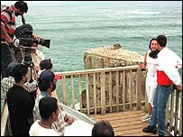 Indian film shoot