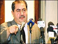 Iraq's new Foreign Minister, Hoshyar Zebari