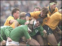 Australia suffered a scare against Ireland in the quarters