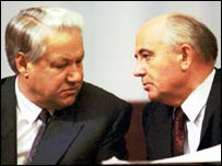 Yeltsin made Gorbachev read out the list of coup leaders