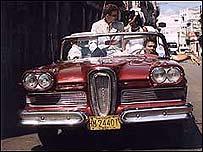 Gladis y Erik en La Habana.