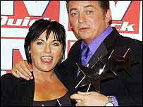 Award winners Jessie Wallace and Shane Richie