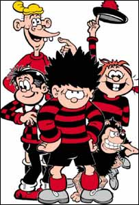Beano characters (image from DC Thomson)
