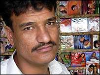 Kabul music seller