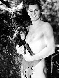 Johnny Weissmuller played Tarzan