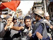 Nepal demonstrator