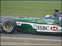 Jaguar at the British GP - snapped by Dean Roderick