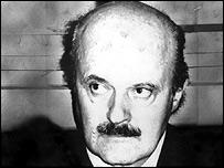 Italian banker Roberto Calvi