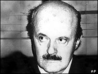 Italian banker, Roberto Calvi