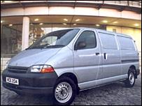 A Toyota Hiace