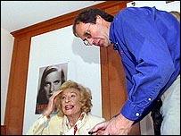 Leni with Bob Chaundy