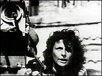 Leni Riefenstahl directing film