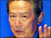 Sony Chairman and CEO Nobuyuki Idei