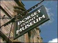 Dorset County Museum sign