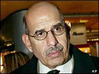 IAEA Director-General Dr Mohamed El Baradei