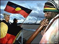 Aboriginal protestors