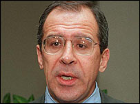 Russian ambassador to the UN Sergei Lavrov (UN picture)