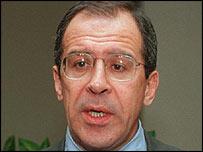 Russian ambassador to the UN Sergei Lavrov (UN picture)