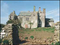 Sker House before the restoration (Pic courtesy of Davies Sutton Architecture)