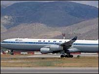 Olympic Airways plane
