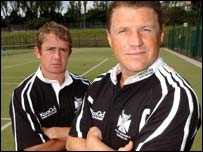 Shane Williams and Scott Gibbs