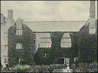Old picture of Sker House