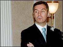 Mr Djukanovic denies involvement in illegal trade