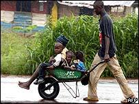 Liberians in Monrovia