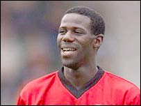Charlton midfielder Chris Bart-Williams