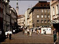 Scene in Tallinn, Estonian capital