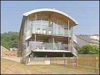 Stilt house in Lewes
