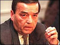 Former Belgian Interior Minister, Louis Tobback