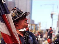 Ground Zero fireman, AP
