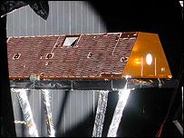 Uno de los satélites de la misión GRACE