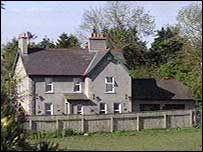 The house in Crawfordsburn owned by Jim Johnston
