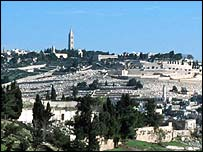 Mount of Olives old City Jerusalem