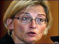 Anna Lindh, fallecida ministra de Relaciones Exteriores de Suecia