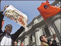 Imagen de apoyo a Allende.