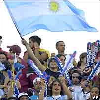 Argentine football fans
