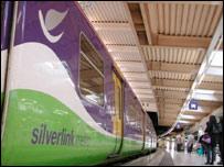Silverlink train